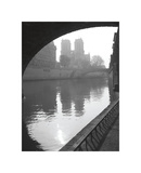 Notre Dame Reflection Giclee Print by Christopher Bliss