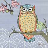 Pastel Owls II Prints by Paul Brent