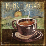 French Roast Art by Paul Brent