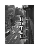 Chelsea Black and White Giclee Print by Christopher Bliss