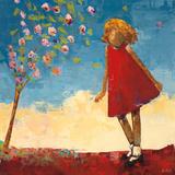 Stella in the Wind April Plakater af Rebecca Kinkead
