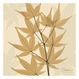 Leaves Galore on Beige Prints by Albert Koetsier