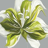 Spring Greens II Prints by Sally Scaffardi