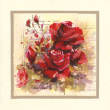Roses Rouges Prints by Pascal Cessou