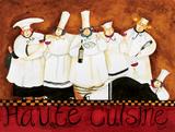 Haute Cuisine Poster par Jennifer Garant