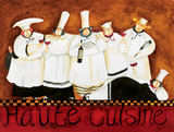 Haute Cuisine Poster by Jennifer Garant