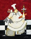Crimson Chef II Affiches par Jennifer Garant