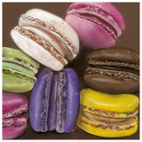 7 Macarons Art by Béatrice Hallier
