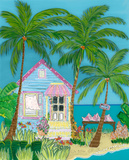 Conch House Print by Wendy McKinney