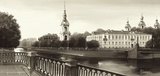 View on St. Nicholas Cathedral, St. Petersburg Print by Ryazanov
