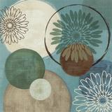Flora Mood I Kunstdruck von Veronique Charron