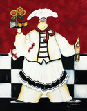 Crimson Chef I Prints by Jennifer Garant