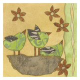 Spring Chicks Prints by Carol Kemery