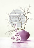 Purple Inspiration I Posters par David Sedalia