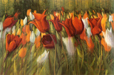 Tipsy Tulips Prints by Shirley Novak
