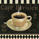 Cafe Parisien I Posters by Daphne Brissonnet