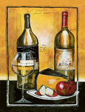 Wine Notes I Prints by Jennifer Garant