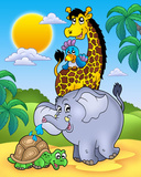 Animali africani II Poster di Klara Viskova