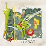 Pate al Dente Posters af Lizie