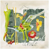 Pate al Dente Prints by Lizie 