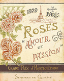 French Seed Packet I Poster by Daphne Brissonnet