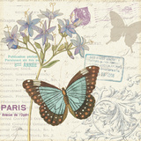 Papillon Tales II Prints by  Pela