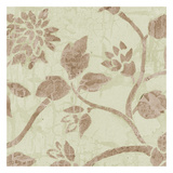 Soft Beige Blooms Prints by Carol Kemery
