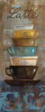 Antique Coffee Cups II Poster von Silvia Vassileva