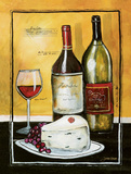 Wine Notes III Posters by Jennifer Garant