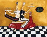 Martini Delivery Posters par Jennifer Garant
