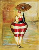 Baigneur de Soleil II Poster by Jennifer Garant