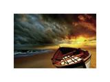 Soft Sunrise on the Beach, no. 9 Giclee Print by Carlos Casamayor