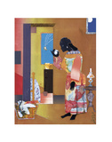 Falling Star, c.1979 Print by Romare Bearden