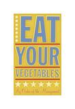 Eat Your Vegetables Giclee Print by John Golden