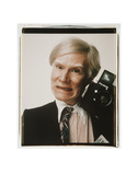 Self-Portrait with Polaroid Camera, c.1979 Print by Andy Warhol