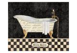 French Bathtub I Posters