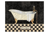 French Bathtub I Posters