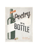 Poetry in a Bottle Art by Luke Stockdale
