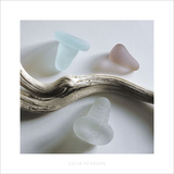 Sea Glass, Bottle Stoppers Prints by Celia Pearson