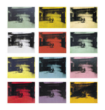 Twelve Electric Chairs, c.1964/65 Posters by Andy Warhol