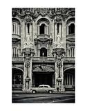 Gran Teatro de la Habana Posters by Sabri Irmak