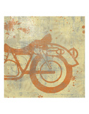 Motorcycle II Posters par Erin Clark