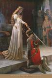 El espaldarazo Pósters por Leighton, Edmund Blair