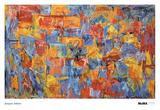 Kort Poster af Jasper Johns