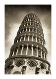 Leaning Tower of Pisa Giclee Print by Christopher Bliss