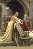 God Speed Affiches par Edmund Blair Leighton