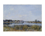 Saint-Mammes, Le Matin Prints by Alfred Sisley