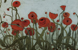 Poppyfield I Prints by Karen Tusinski