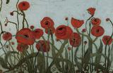 Poppyfield I Posters by Karen Tusinski