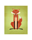 The Crooked Fox Posters by John Golden